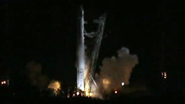 SpaceX launch leads to letdown due to engine pressure