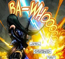 Bewitching images of the Bullet Witch comic