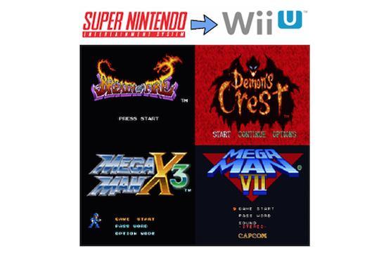 Capcom adding 15 NES, SNES, GBA games to Virtual Console