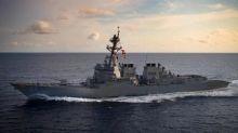 U.S. Navy again sails through Taiwan Strait, angering China