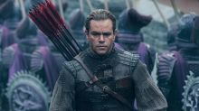 Matt Damon's The Great Wall expected to lose $75 million