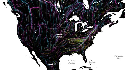 This animated map shows why animals can't survive climate change without our help