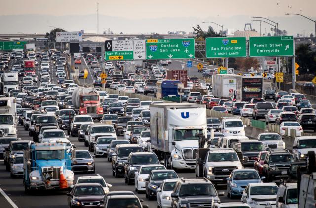 California sues EPA, NHTSA over data used for car emissions rollback
