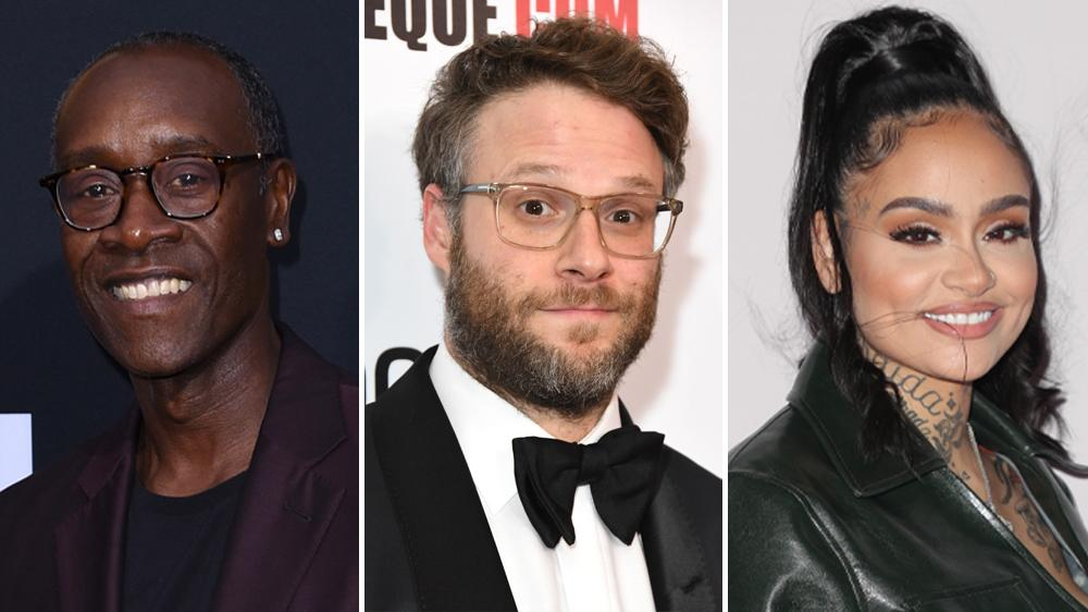Seth Rogen, Steve Carell, Harry Styles, Don Cheadle Floyd