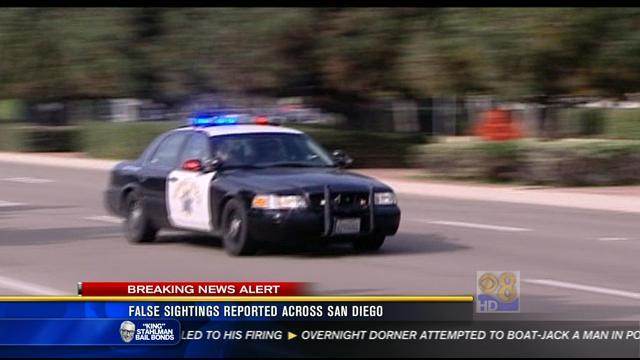 False sightings of Christopher Dorner reported across San Diego