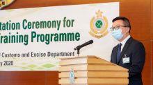10關員獲頒繁殖犬隻訓練課程證書 關長鄧以海主持儀式