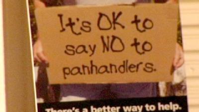 County Officials: Stop Giving Panhandlers Money