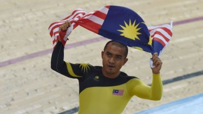 National track cyclist Azizulhasni is getting his own movie