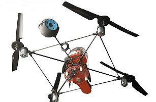 "Draganfly SAVS R/C helicopter does aerial photography ""on the cheap"""
