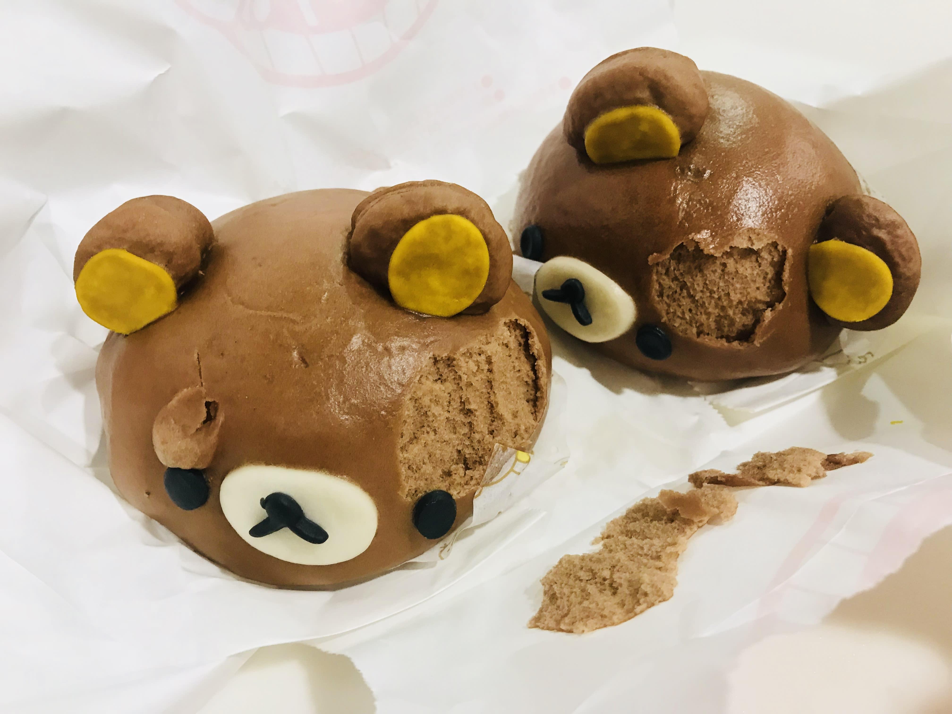 拉拉熊巧克力包子