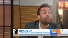 See the Awkward Moment That Made 'Suits' Actor Do a Spit Take on 'Today'