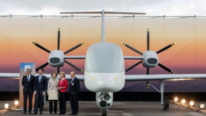 L'Eurodrone, le futur drone de surveillance européen, se rapproche du crash