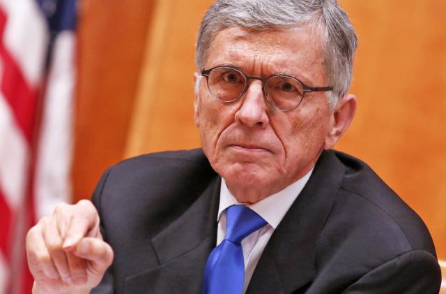 FCC chairman Tom Wheeler will step down next month