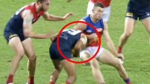 'Lost control': Uproar after AFL player 'millimetres from wheelchair'