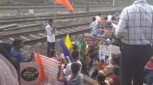 Mumbai: Rail roko at Kanjurmarg station briefly disrupts Central line services