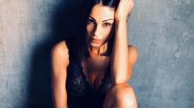 Anna Tatangelo, look total black: fan impazziti
