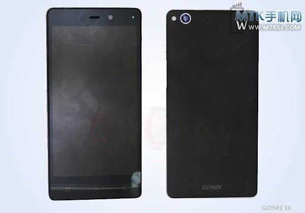 Gionee ELIFE E6 smartphone leaks with 5-inch 1080p display, quad-core SoC and 13MP cam