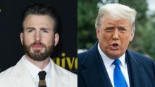 President Trump turned down Chris Evans (twice) for political project