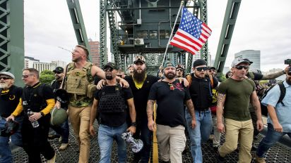 Portland protests: Seized shields and arrests