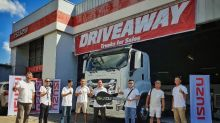 Isuzu PH turns over EXZ77N truck to Neoji Trucking Services