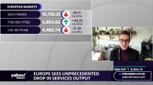 Europe sees unprecedented drop in services output