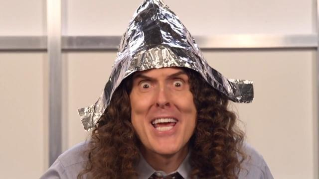 Weird Al Yankovic Spoofs Lorde's 'Royals' with 'Foil'