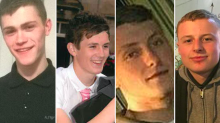 Police name four men killed in weekend car crash involving an Uber in Leeds