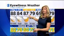 Katie's Steamy And Stormy Forecast: May 28, 2015