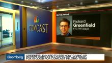Disney Critic Greenfield Weighs in on Comcast Giving Up the Fox Chase