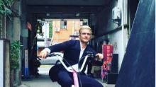 Orlando Bloom Debuts New Blonde Hair As Instagram Goes Public