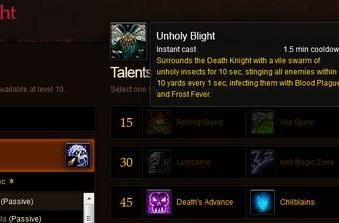 Lichborne: New Mists of Pandaria talent updates for death knights