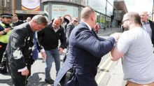 Nigel Farage milkshake attacker Paul Crowther says he regrets his actions and wants to apologise to Brexit Party leader