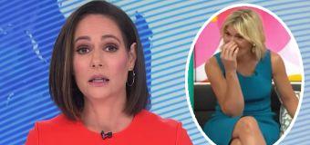 Hosts stunned by newsreader's live admission