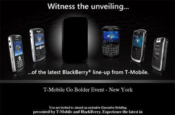 T-Mobile sending out early November event invites for Bold 2 launch?