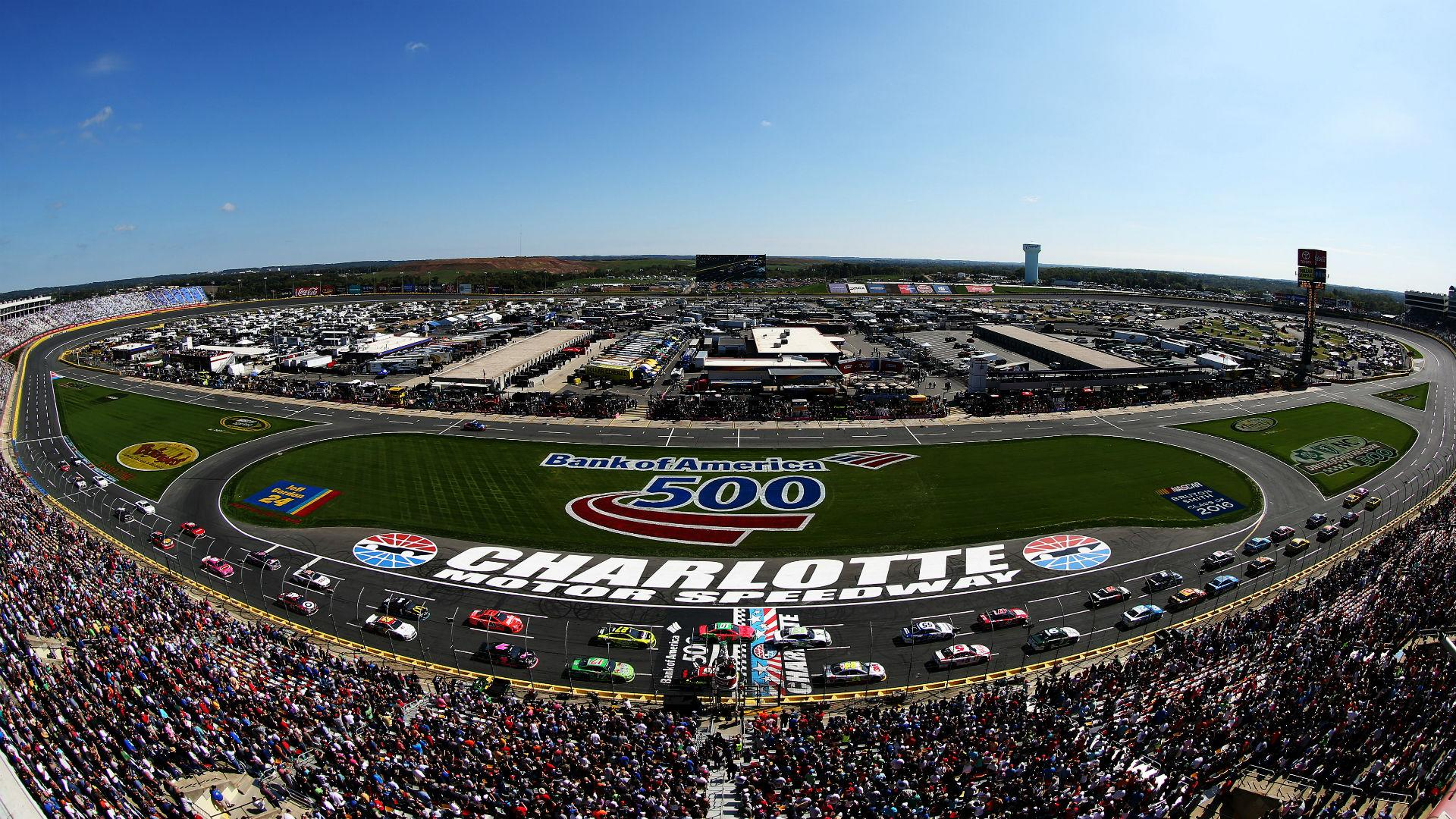 2018 NASCAR schedule release: Charlotte's playoff race ...