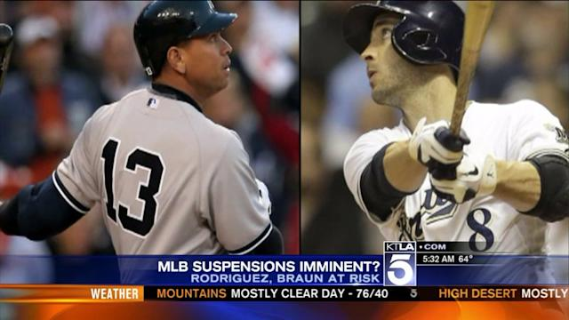 MLB Seeks to Suspend A-Rod, Braun, Report Says