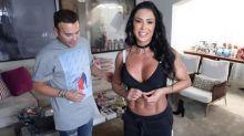 Gracyanne Barbosa revela que já se envolveu com outra mulher: 'Eu experimentei'