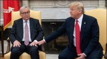 """Trump lobt EU-Kommissionspräsidenten Juncker als """"harte Nuss"""""""