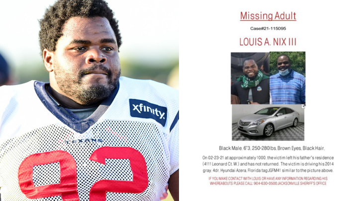 Former NFL star missing after harrowing poster circulates