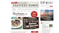 Vote Durham as The South's Tastiest Town