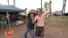 The wet and wild antics at CMC Rocks