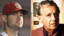Lucas Giolito honors late grandfather, 'Seinfeld' actor Warren Frost