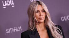 Kim Kardashian Reveals New Ice-Blonde Lob In Raunchy Mirror Selfie