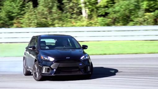 Driving with The Stig in the Ford Focus RS