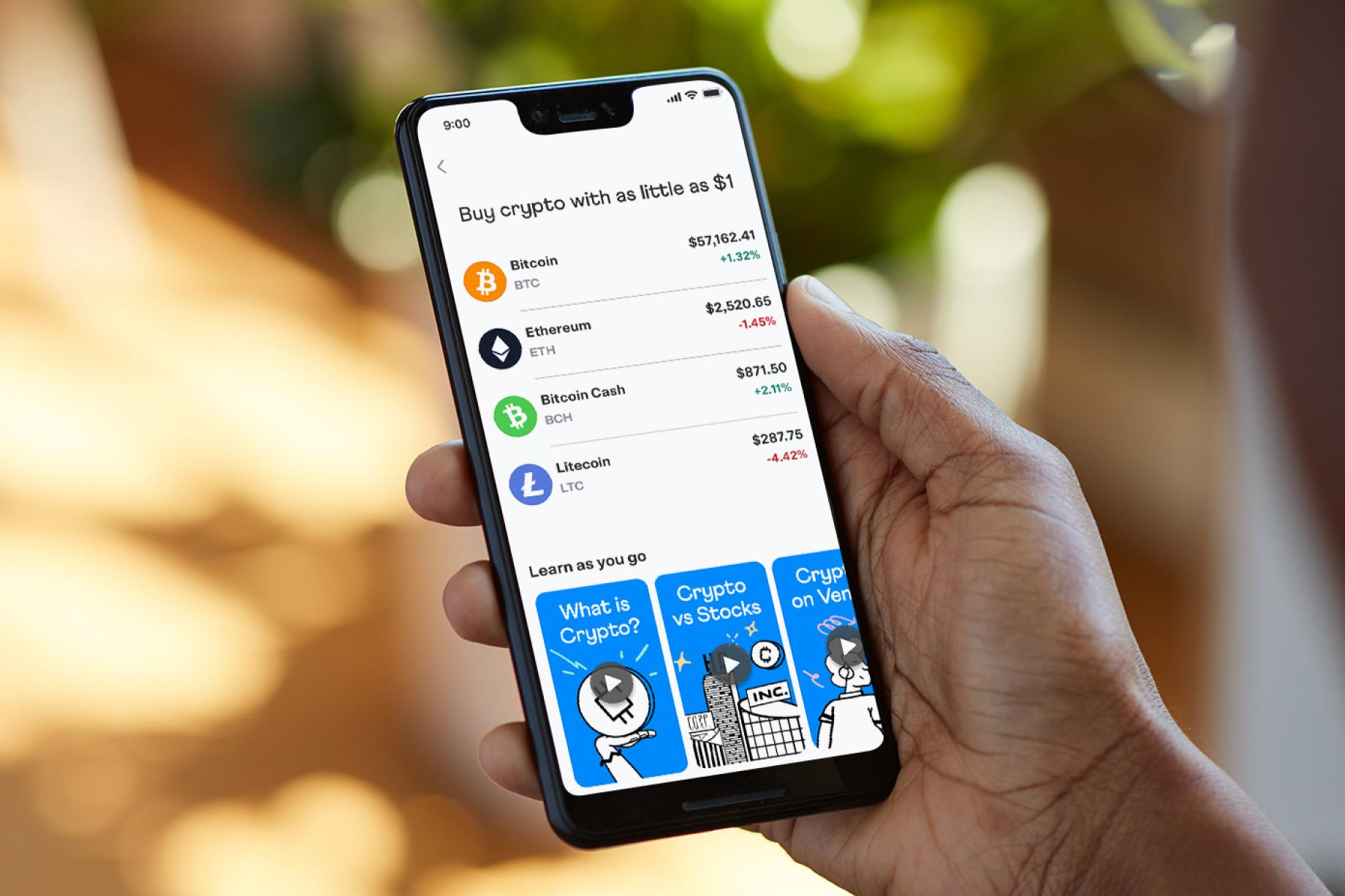 Venmo adds support for buying, holding and selling cryptocurrencies