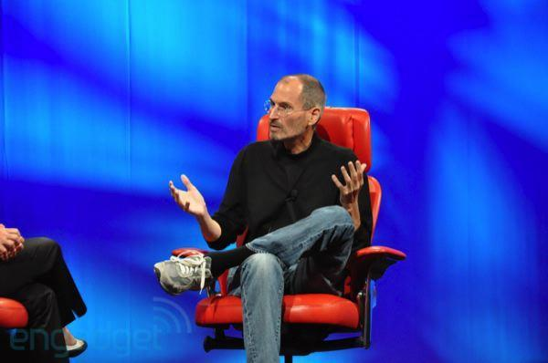 Steve Jobs at D8: Foxconn, iPhone prototype, TVs, and more