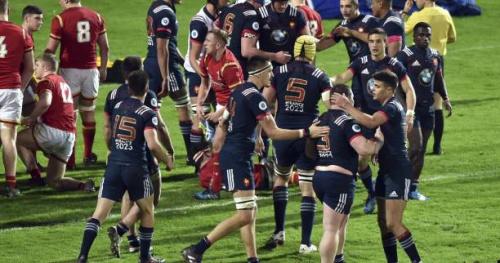 Rugby - Tournoi U20 - Les Bleuets terminent ce Tournoi sur une large victoire face aux Gallois