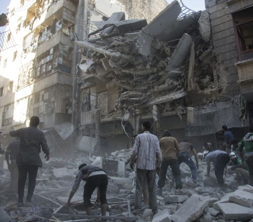 Two largest hospitals in rebel-held Aleppo bombed