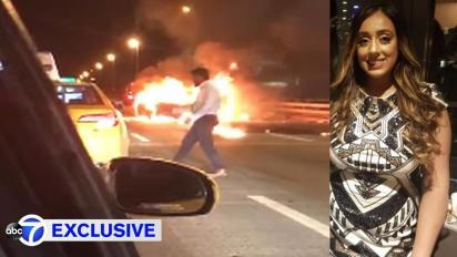 Image result for man hails cab after date burns to death in car crash