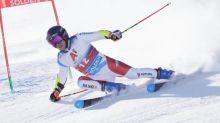 Ski alpin - CM (H) - Sölden: Gino Caviezel leader surprise du géant, Henrik Kristoffersen et Alexis Pinturault suivent de près